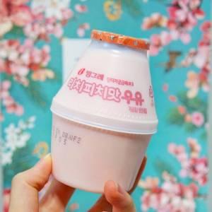 首爾必買!韓國香蕉牛奶飲料品牌推出夢幻「荔枝蜜桃」口味啦