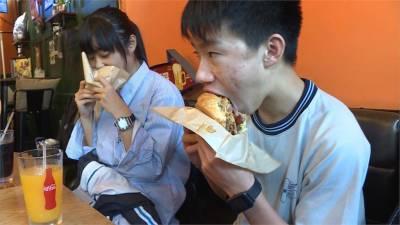 新竹漢堡專賣店 分量十足學生最愛