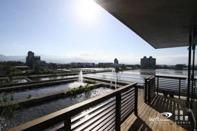 宜蘭 在海田行館被綠意包圍 不用推窗也能欣賞水田相映的知性之美