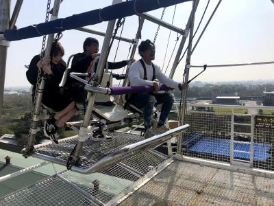 32米高空俯瞰台南美景!《食尚玩家》赴台南體驗「通往天堂的鞦韆」