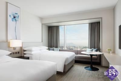 國泰萬怡與 COZZI Blu 和逸飯店 桃園館聯手推出住房專案