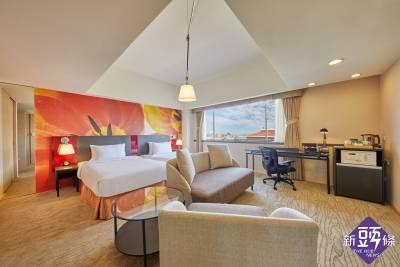 國際三八婦女節 台北凱撒大飯店推出三月份女王降臨住房專案