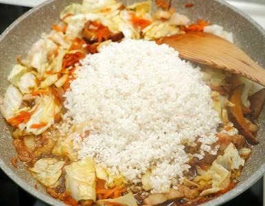 【食譜】古早味高麗菜飯做法.煮一鍋香噴噴家常美味