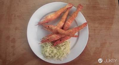 日本光速料理超誇張?! 一秒做好炸蝦