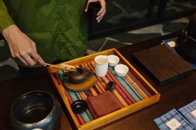 台灣茶入菜! 鐵觀音海鮮巧達湯 蟹肉干貝金萱 重新詮釋在地味