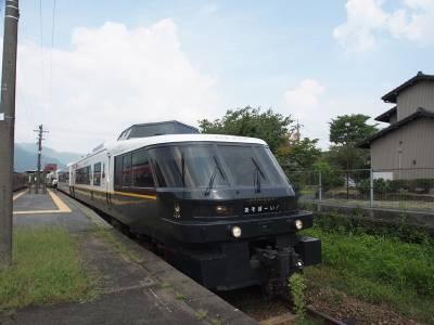 CP值最高的日本旅遊地!鐵道迷的天堂!來○○感受大人氣列車的魅力.....親子共乘的「阿蘇男孩號」,一生絕對要搭乘一次!
