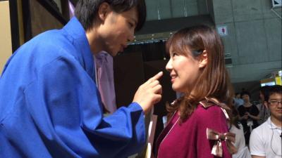 少女心蠢蠢欲動!日本超帥武士跟你談戀愛!!還玩什麼戀愛遊戲,真人現身零距離互動!