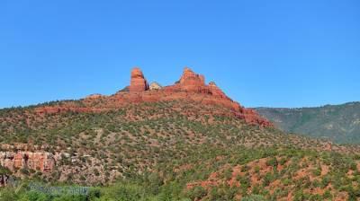 美國亞利桑那州的紅岩殿堂