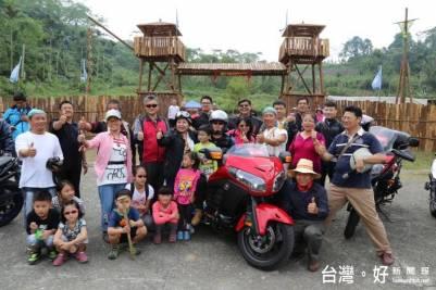 阿里山農村小旅行 邀重機騎士到山寨作客