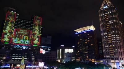 新北市歡樂耶誕城 3D光雕秀即日加碼放送
