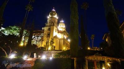 加州赫式古堡的聖誕節