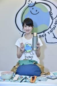 連俞涵擔任台灣地球日大使 力推「台灣百萬綠行動」