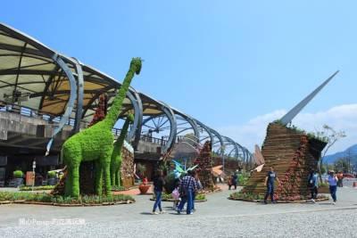 暢遊宜蘭綠色博覽會2017:來去自如的交通 冬山火車站周邊 中