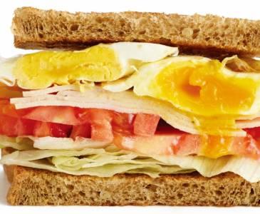 下午茶的優閒時光,來份無負擔三明治吧!
