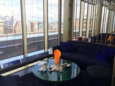 悠閒的阿姆斯特丹,尊榮貴族般的W Hotel~ 實在太奢華啦!!