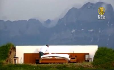 全球最酷的露天飯店~沒屋頂 沒牆壁 沒自來水,只有一張床...,有錢還不一定住得到!