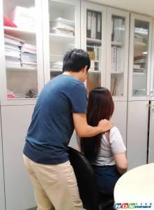 同事間按摩若碰觸敏感部位 恐涉職場性騷