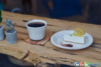 在檜木香氣中品嚐咖啡甜點 惦惦獨特的嗅覺記憶