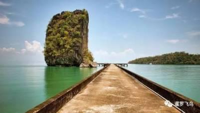 神秘絕色 鮮為人知,泰國監獄島國家公園 最後的天堂聖地