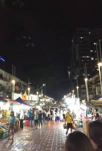 吉隆坡阿羅街夜市