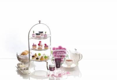 五星飯店再掀跨界合作風潮 打造頂級黑玫瑰下午茶宴