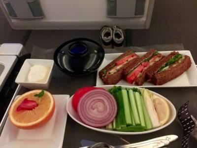 超悲劇!日航商務艙原來是素食者的地獄‥全程冰冷冷食物,保証讓你崩潰到目的地