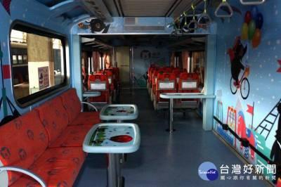 台鐵發表首輛自強號親子車廂 7 30試行上路