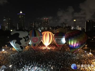 台東國際熱氣球嘉年華 6 30開幕光雕音樂會璀璨登場
