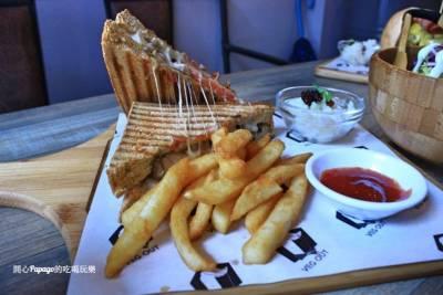 耍廢空間VEG OUT早午餐:蘆洲捷運站美食(新北市美食)
