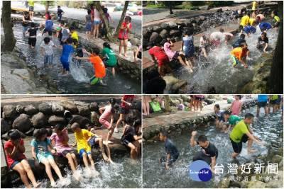 「擁抱玉泉溪」清涼一夏 童玩節期間雙重優惠