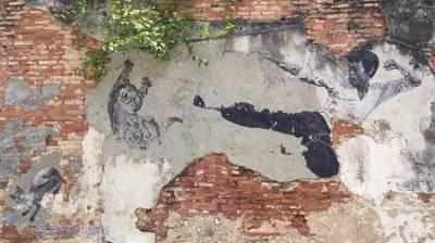 喬治城,被壁畫賦予了生命的老城