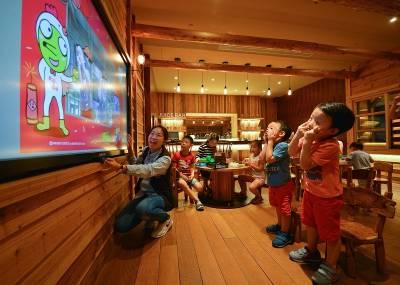 每個小朋友都可以有一部專屬跑車!可以一直玩,一直玩~~宜蘭「蘭城晶英酒店」每一處都是驚喜!!