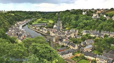 美麗的法國中古世紀小鎮Dinan