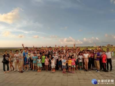 高美濕地夕陽音樂晚宴登場 百名港澳旅客感受台中魅力