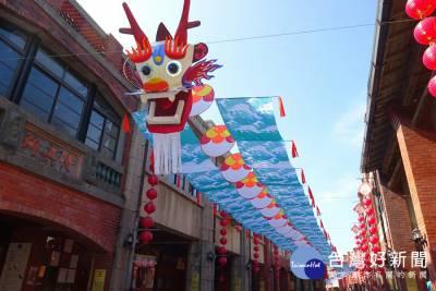 超吸睛 百米大風箏現身傳藝中心