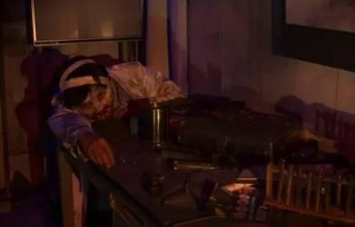 人骨 屍體 鮮血...Running Man挑戰的世界上最恐怖的鬼屋再升級!膽小者勿入!