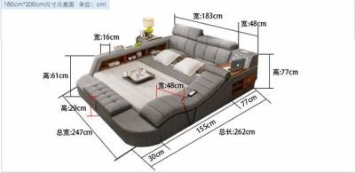 95 的人「上去之後絕對不想下來」的夢幻家具!日本推特爆紅「絕對墮落」沙發床,居然在床頭安裝了這種功能...