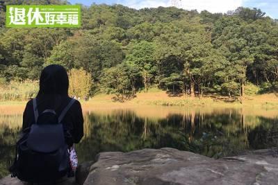 北臺灣既迷你又唯美的仙境!似真似假的湖光倒影,快來尋找這座都市小秘境...最大的亮點在這!