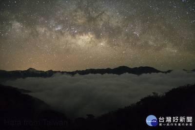 合歡山「摘星星」美景盡收眼底 天文迷盼設「星空保護區」