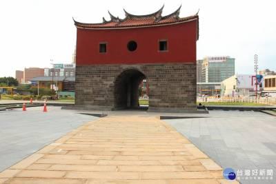 感受台北城歷史意象 北門廣場周邊設置11處歷史解說碑