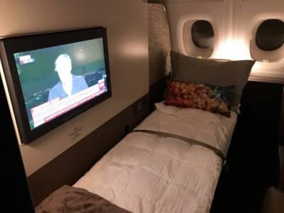 中東土豪極致奢華享受!【阿提哈德頭等公寓】高空洗澡,每位旅客還給你專屬帥氣管家,怎麼這麼爽!?