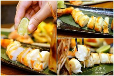 【桃園美食】本壽司握壽司專門店‧隱身住宅區的私藏好店 台灣漁獲搭配日本海鮮,創意握壽司料理精彩又美味