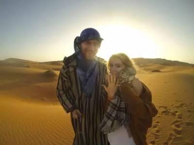 夫妻倆每天花8美元,6年繞地球走了3圈,這才叫窮游!