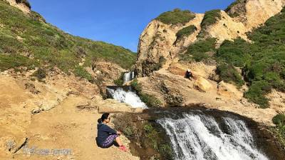 天龍國的海濱瀑布:Alamere Falls