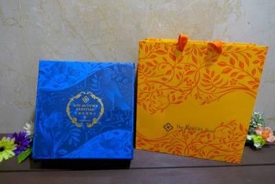 歐華普羅旺斯秋月廣式中秋禮盒,中秋月餅推薦,用包裝典雅 皮薄餡多的好吃月餅傳遞中秋佳節滿滿心意