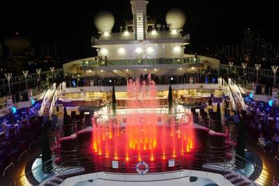 最新 最奢華的海上旅行!搭乘「盛世公主號」,海上天空步道 星空電影院等設施超吸睛...