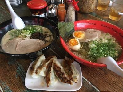 來沖繩必吃的拉麵是「通堂拉麵」!但是,拉麵居然還有分「男味」和「女味」?!