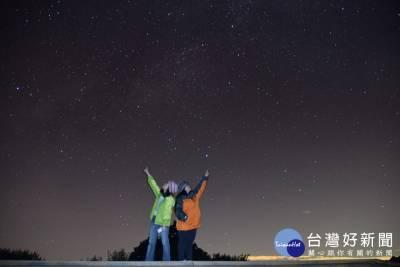 獵戶金箭又鳴鏑 阿里山上觀賞流星