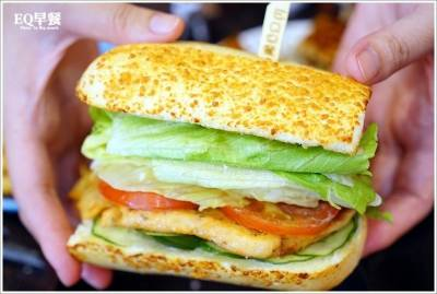 【苗栗頭份】EQ早餐‧小鎮裡隱藏版激美味古巴三明治 親子友善早午餐