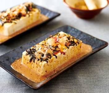 看起來簡單卻不簡單的拿手菜三分鐘上桌【日式麻醬冷豆腐】
